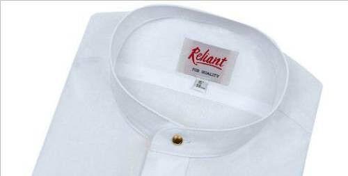 legale Men/'S Manica Lunga Tunica Stile Clero legge Camicia Vicario Prete