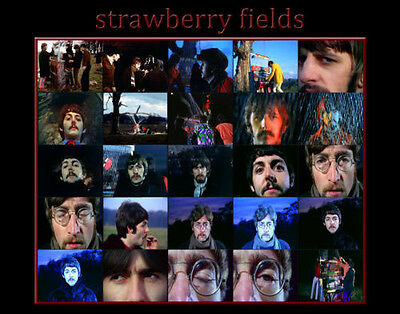 "The Beatles Strawberry Fields 11x14/"" Photo Print"