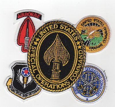 US Special Operations Command Gaggle w// Airborne BC Patch Cat No C5068