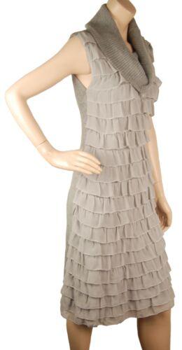 De Sa Cc850 Black Sleeveless La Sequin Maglione Conmigo Robe Glamorous Angor Avec Soie 7pzdwqSx