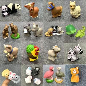 5pcs-Set-Little-People-Zoo-Talker-Farm-Animal-Figures-Doll-Toy-Xmas-Gift-Random