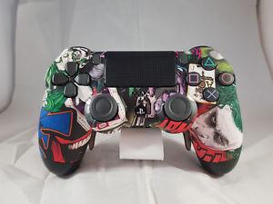 PS4-Scuf-Controller-Joker-Design-NEU-und-vom-HANDLER