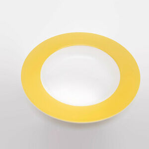 Villeroy-amp-Boch-Wonderful-World-Yellow-Large-Rimmed-Soup-Bowl