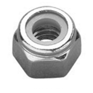Packs of 5    M12  NYLOC NUTS A2 Stainless Steel Nylock Nylon insert