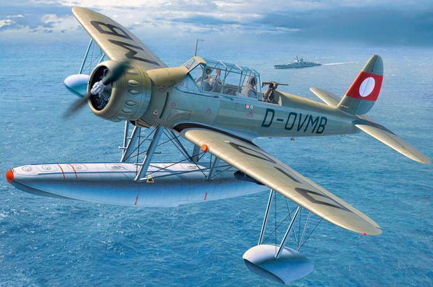 Revell 1 3 2 04922  water plane ARADO AR196B