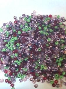 10//0 3000 Perles de Rocailles PRECIOSA ORNELA 30 G aigue trou argenté 2.3 mm