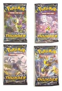 Pokemon-SM8-Lost-Thunder-4-Loose-Booster-Pack-New