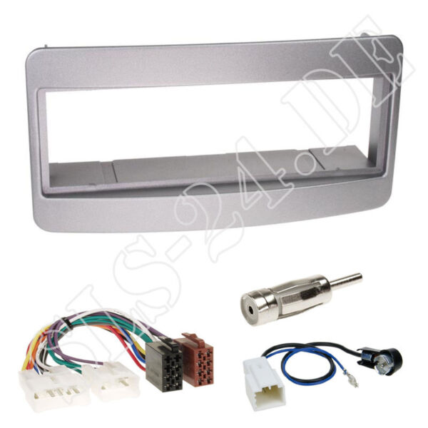 1-din Radioblende Silber Iso Adapter Kabel Toyota Avensis Celica Mr2 Yaris Verso Met Traditionele Methoden