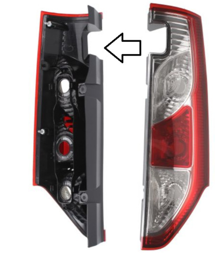 /> Anteriore LED FOG LIGHTS /& DRL COPPIA SINISTRO E DESTRO Per RENAULT KANGOO Mk3 9//2008