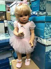 Susan Lippl Vinyl Puppe 75 cm. Top Zustand