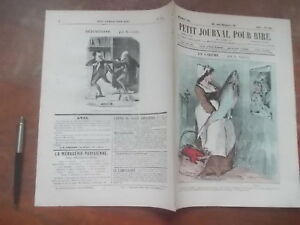 PETIT-JOURNAL-POUR-RIRE-522-1866-EN-CAREME-Grevin-CONCIERGES-ARABES-LORETTES