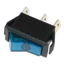 # KFZ Wippschalter 30x15 BLAU UNBELEUCHTET! Ein-Aus 12V 20A 12Volt Auto Schalter