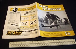 Vintage Aeromodeller Magazine (Aug 1951). ED 2.46 Engine Analysis + Engine Ads