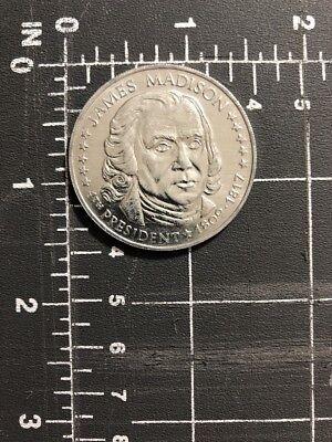 James Madison 4th President Plastic Coin Token 1809 1817 Usa Collectible America Ebay