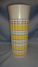 "Vintage/Retro Hornsea Pottery Rainbow Design 11"" Vase JOHN CLAPPISON"
