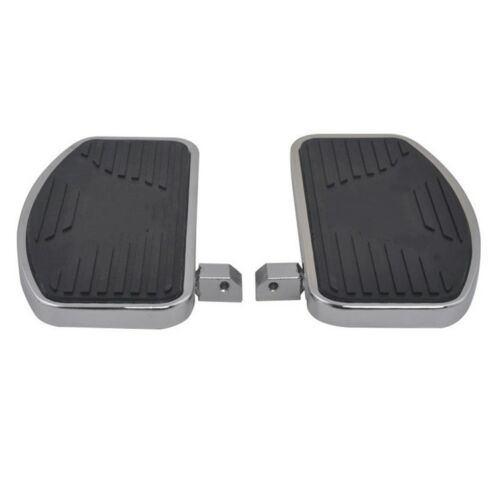 Black Mini Floorboards for Harley /& Other Motorcycles Front or Rear Foot Boards