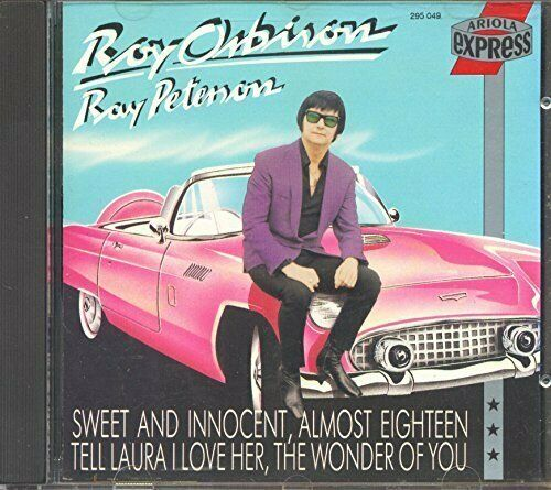 Roy Orbison /Ray Peterson (compilation, 16 tracks, 1958-60, BMG/AE)  [CD]