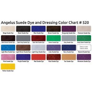 Angelus Suede Dye & Dressing Rust 88ml (11,31€/100 ml)