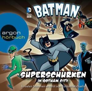 Batman-Superschurken-in-Gotham-City-Hoerbuch-CD-2016-NEU