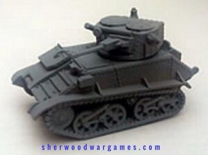 28mm British Vickers Mk VIc In Resin By Blitzkrieg WWII Bolt Action,