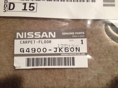 BEIGE 2009 Infiniti G37//G37X SEDAN Carpeted Floor Mats FACTORY OEM ITEMS