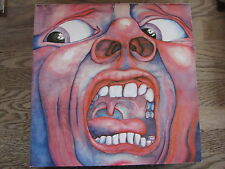"LP - KING CRIMSON - IN THE COURT OF THE CRIMSON KING RI ""TOPZUSTAND!"""