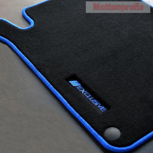 Mattenprofis Exclusiv Velour Fußmatten für Mercedes SLK R170 ab Bj.1996-2004 b