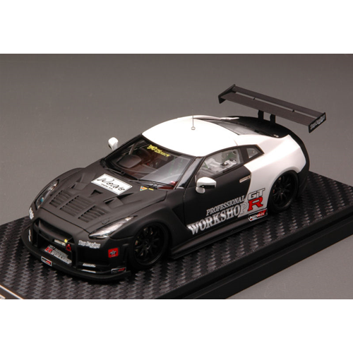vendita calda NISSAN GT-R (R35) TEST auto 2010 1 43 Hpi Racing Racing Racing Auto Competizione Die Cast  marchio famoso