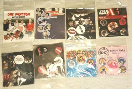 DC GIRLS JUSTIN BIEBER BATMAN ONE DIRECTION CREED Patches Badges,STAR WARS