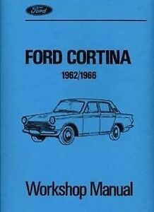ford cortina mk1 1962 to1966 car shop manual catalogue book paper ebay rh ebay co uk ford escort mk1 workshop manual pdf ford cortina mk1 workshop manual pdf