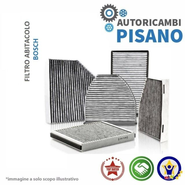 FILTRO ABITACOLO ARIA CONDIZIONATA ANTIPOLLINE BOSCH 1987432026