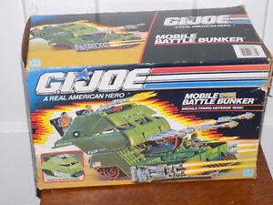 Gi Joe Mobile Bunker de bataille dans la boîte 1989