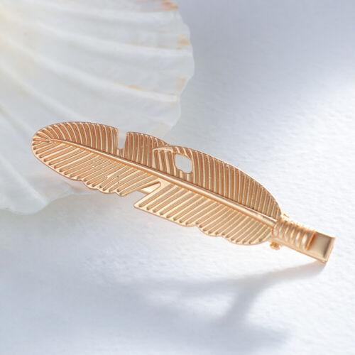 Tool Pearl Starfish Hairpins Hairgrip Leaf Shape Hair Clip Feather Barrettes