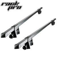 2 Roof Rack Cross Bars Universal Rails Car Wagon Suv Luggages Crossbar on sale