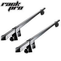 2 Roof Rack Cross Bars Universal Rails Car Wagon Suv Luggages Crossbar