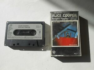 Cassette-audio-K7-ALICE-COOPER-special-forces