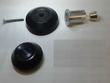 Triumph Speed Triple 1050R Rear Axle Spindle End Cover Plug Kit - Black