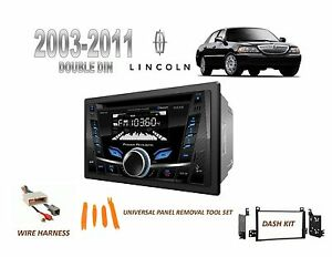 2003 2011 Lincoln Town Car Bluetooth Usb Mp3 Car Stereo Install