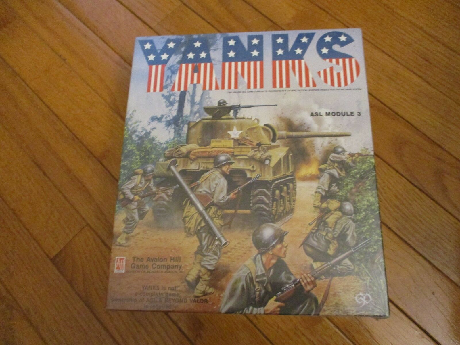 Avalon Hill ASL Avalon Gruppledare Yanks SW