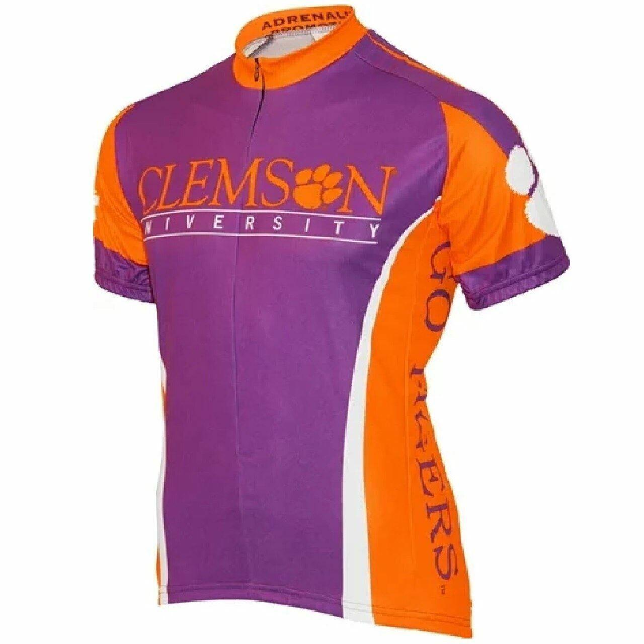 Adrenaline Promo Clemson University Tigers College 3 4 zip Sie's Radfahren Jersey