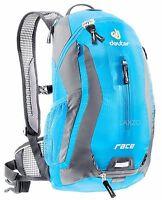 Deuter Race Rucksack Turquoise Bike Cycling Backpack Lightweight + Rain Cover