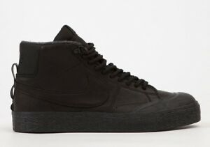 253ed76aca57 Nike SB Zoom Blazer Mid XT Bota UK 10 (EUR 45) Triple Black New ...