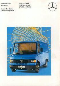 Mercedes-Benz-Grosstransporter-Prospekt-1986-3-86-brochure-Lkw-Nutzfahrzeug-truck