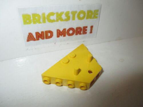 1x Vehicle Train Tipper End Flat 3145 Yellow//Jaune//Gelb Lego