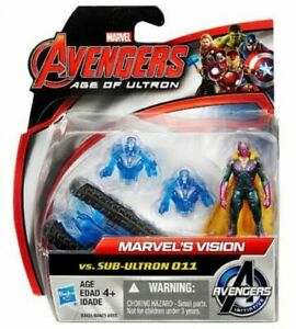 Marvel Avengers Age of Ultron Marvels Vision vs Sub Ultron 011 Action Figure
