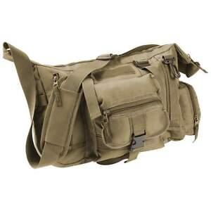 "outdoor 15"" tactical shoulder gear bag, mens hike hunt"