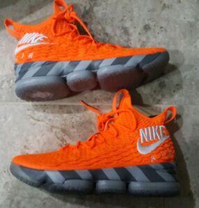 buy online 86d47 36542 Details about Nike LeBron 15 XV KS2A Orange Box Player Exclusive Size US11  AR5125-800 RARE!!!!