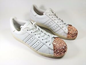 Details zu Adidas Superstar Womens Special Edition Metallic Toe Trainers Uk  7 Eu 40.5