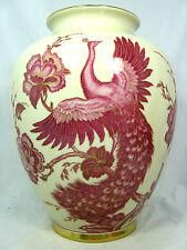 "Beautiful , handpainted  Jaeger & Co. Porzellan Vase  ""paradise bird ""  US Zone"