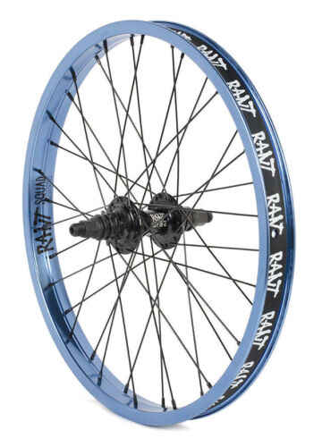 "RANT PARTY ON V2 BMX BIKE BIKE 20/"" REAR WHEEL FIT CULT SHADOW SUBROSA BLUE RHD"